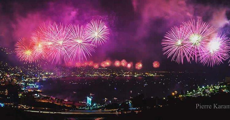 jouniehfestival2016 jounieh livelovejounieh opening fireworks ...