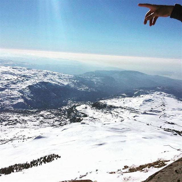 Good morning from mountsannine livelovelebanon Lebanon lebanon_hdr ...