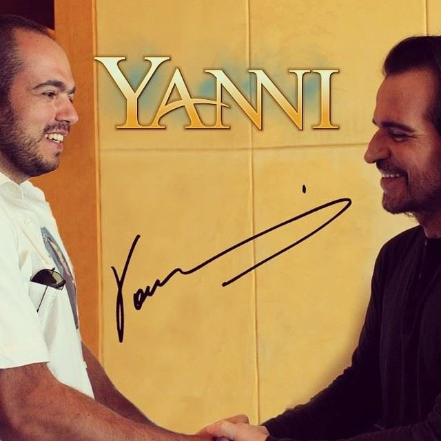 meeting with  yanni  fourseasons  best  muscisian  my  favorite  happy ...