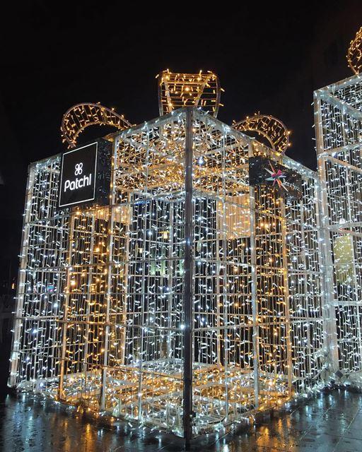 lighting gift magic christmastime nightview joytotheworld december ... (Beirut Souks)