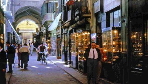 #Beirut Jewellers and goldsmiths market