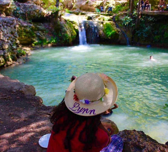 lebanese_nature pure water waterfall insta_lebanon whatsuplebanon ... (الجاهلية)