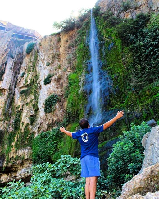 lovelyplace jezzine jezzineoffroad waterfalls summer hike beatiful... (Waddy Jezzine)