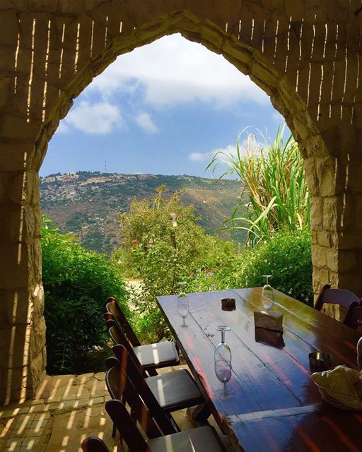 amazingplace nature views restaurant araoonvillage niceplace ... (Arnaoon Village- Batroun)