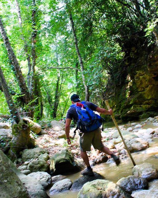 hiker hikingadventures riverwalk lebanontimes insta_lebanon ... (Reshmaya)