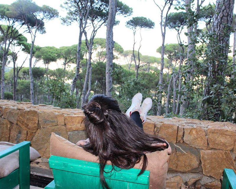 relaxingday treeviews amyzing relaxedhair naturelovers lebanontimes ... (Bkassin-jezzine)