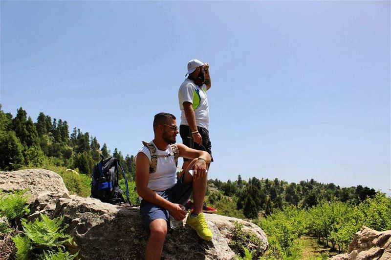 hikers lookingfor waiting natureaddict naturelovers lebanonspotlights... (Ammou3a - Akkar)