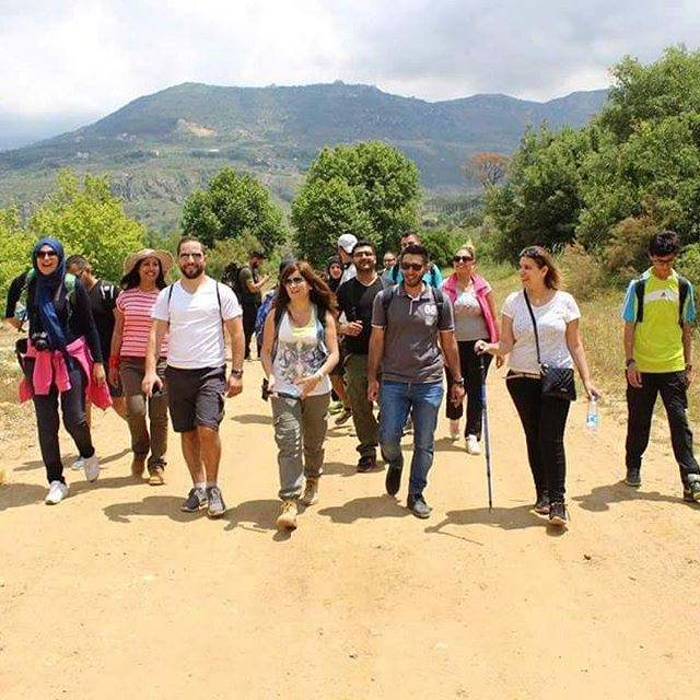 hikers hiking friends friendsofnature lebanonweekly lebanoninstagram...