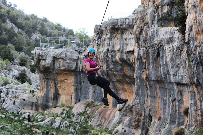 zipline lebanonmountains tannourine flying livelovelebanon ...
