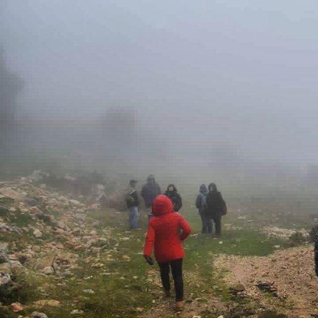 insta_lebanon hiking instahikers lebanon cloudlovers clouds... (Habil, Mont-Liban, Lebanon)