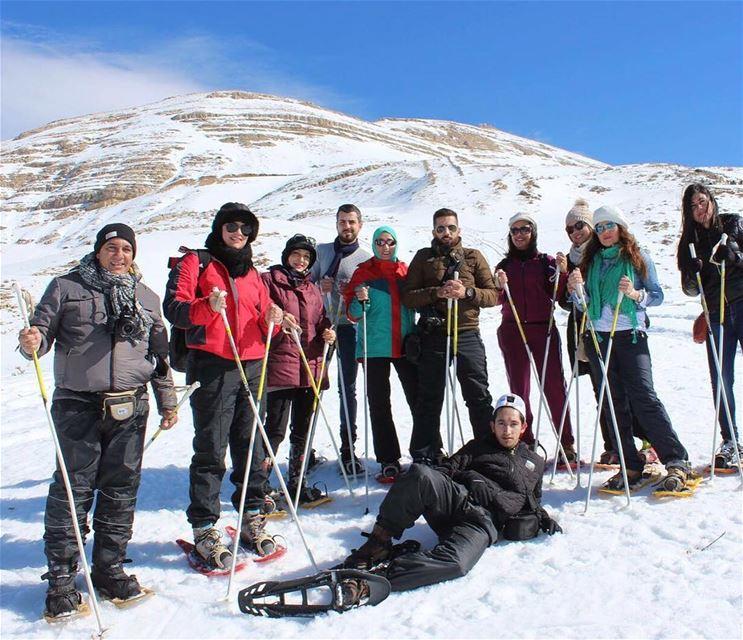 hikinginsnow livelovefaraya lebanoninstagram livelovenature ... (Qanat Bakish, Mont-Liban, Lebanon)