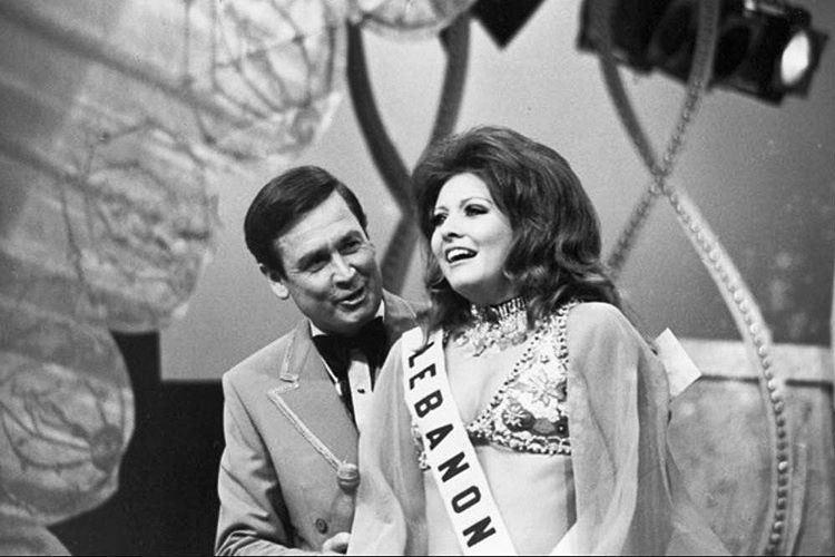 Miss Universe Georgina Rizk 1971
