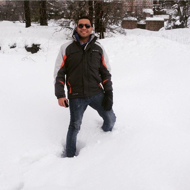 snow lebanon amazing cold cool 🏂