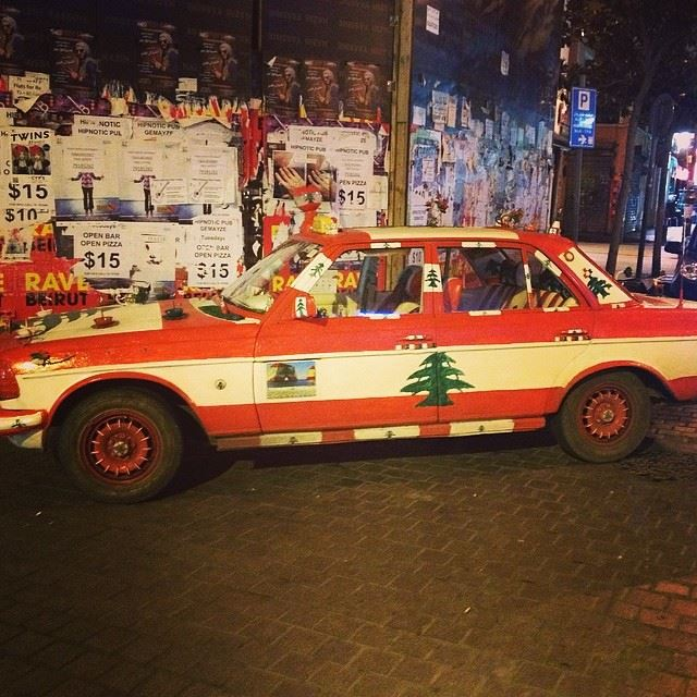 hamra street lebanon Beirut lovely car 🚕🚕🚕🚕...