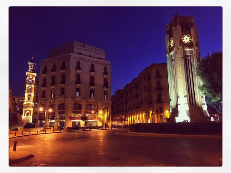 A city with a great history... discoverbeirut travel tourism lebanon ... (Place De L'etoile Downtown Beirut)