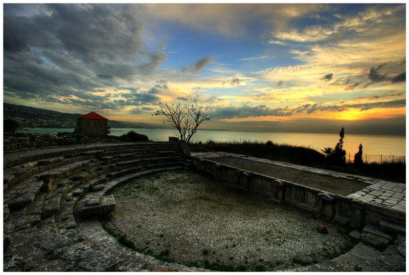 The Roman Theatre in Byblos