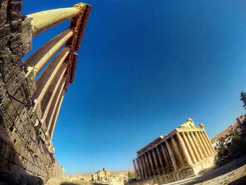 temple ancient roman baalbak gods history historic ancientgods huge... (Baalbek Temple)