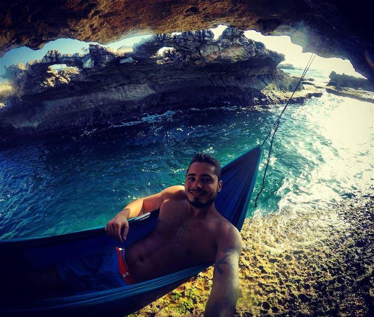 monday summer 2k16 beach hammock chilling cliff diving freediving rocks...