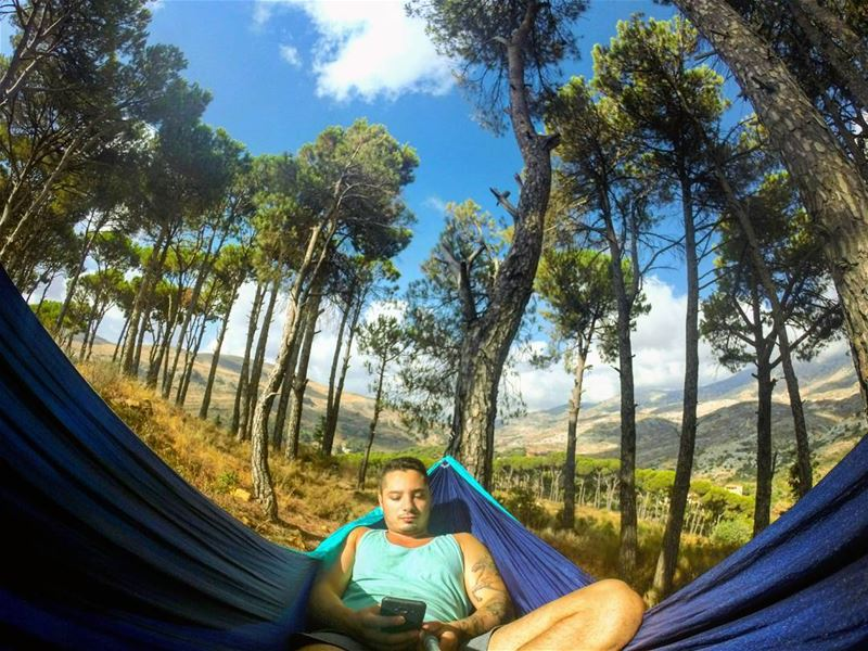 sunday chilling nature camp camping hike hiking outdoor forest montain... (Arz L Barouk)