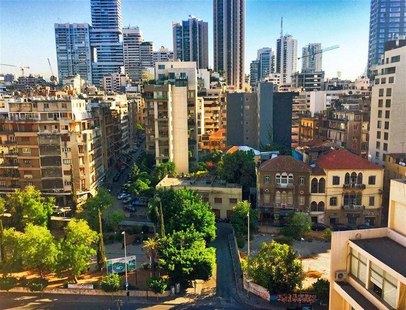 The little house in the jungle . Good morning ☀️ achrafieh urban modern... (Achrafieh, Lebanon)