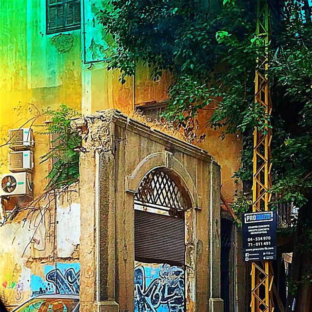 If opportunity doesn't come knocking, knock down the walls and open the... (Achrafieh, Lebanon)