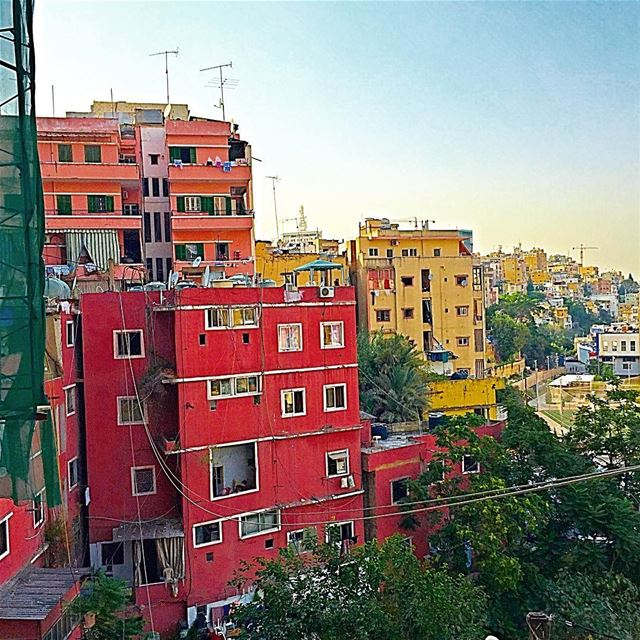 There are many sides to every city...this is the colorful one🎨 beirut ... (Karm L Zaytoun)