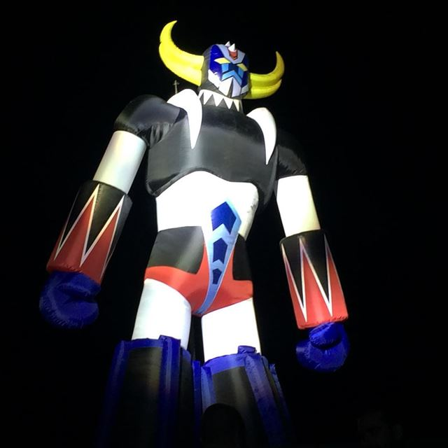 And here comes grendizer  musichall   lebanonspotlights  livelovebeirut ... (MusicHall Waterfront)