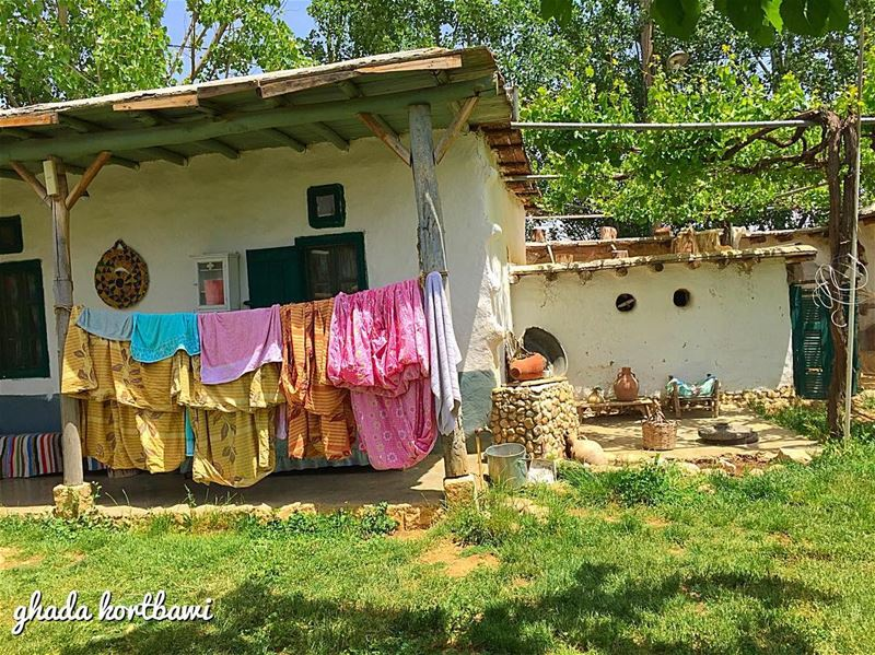 The simple life  taanayel  ecolodge sheets laundry lebanonspotlights ... (Ecolodge Tanaïl)
