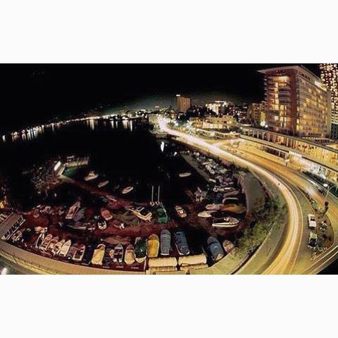 بيروت الزيتونة ليلاً عام ١٩٧٢