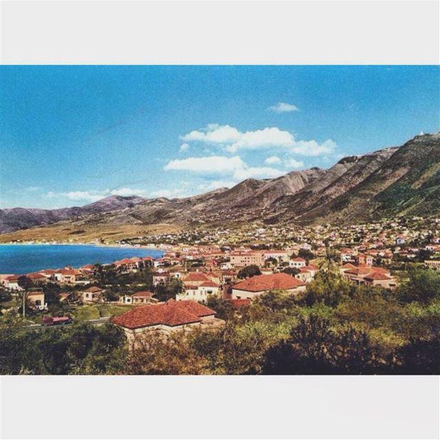 لبنان جونية عام ١٩٦١