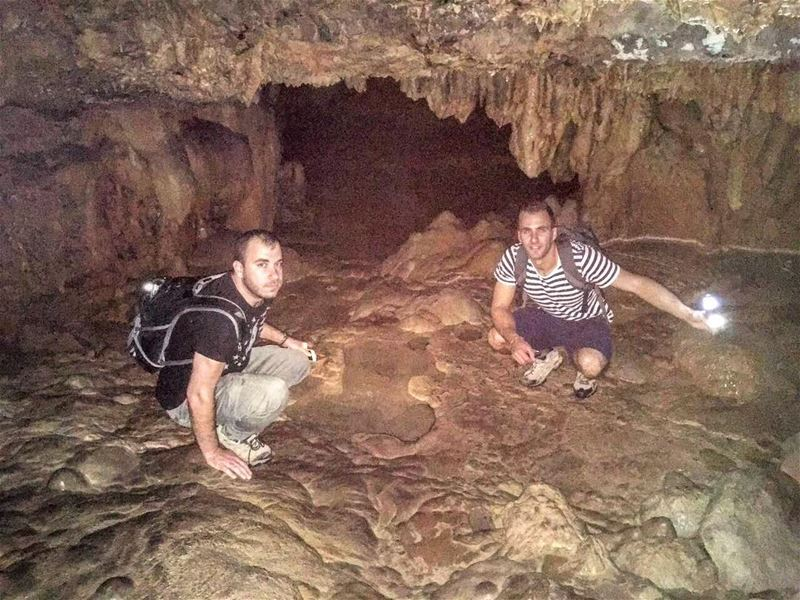 From Our First Caving Adventure .. lebanon lebanon_hdr caving caving ... (Somewhereinlebanon)