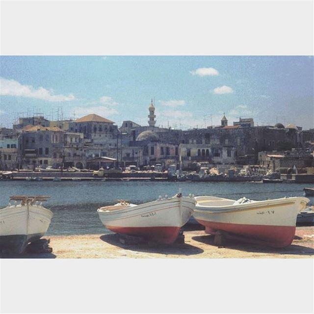 لبنان صور عام ١٩٧٣