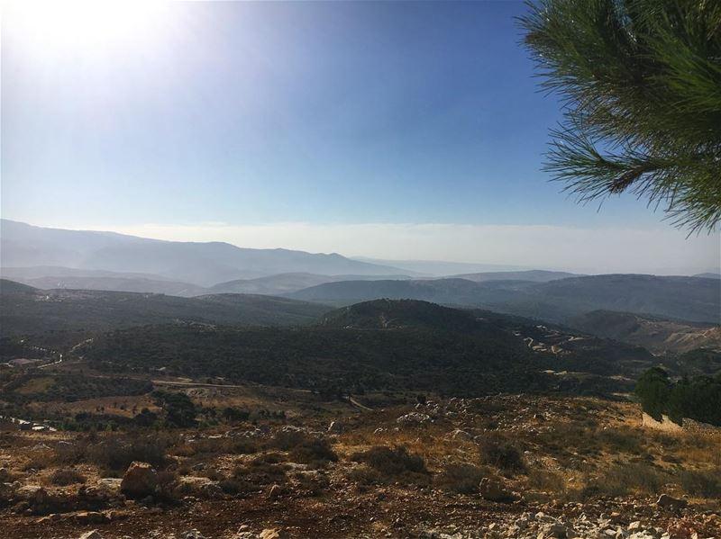 Southern Heaven ❤️ tb lastweekend south lebanon southernhighlands ... (Rihâne, Al Janub, Lebanon)