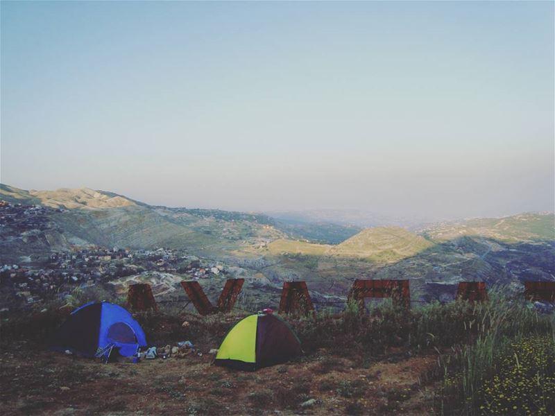 lebanon faraya kfardebian camping campo campinas campinglife ... (Faraya, Mont-Liban, Lebanon)
