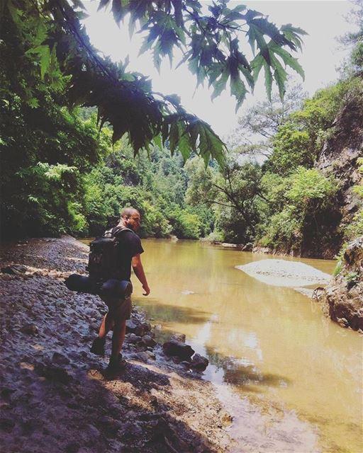 lebanon nahribrahim chouwen lake roadtrip hiking hikinglife ... (Chouwen)