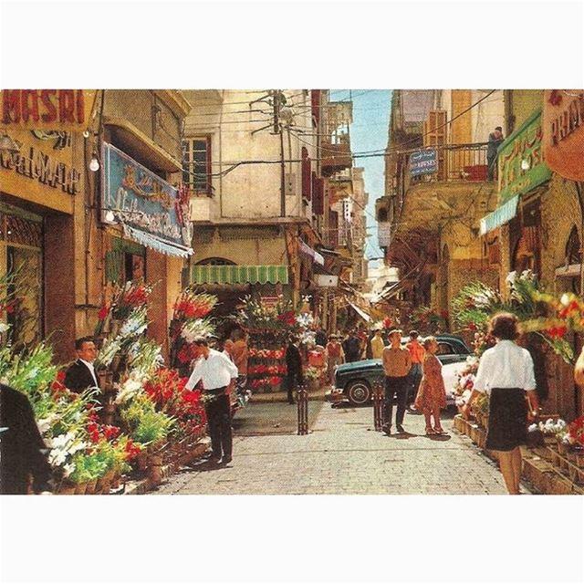 بيروت باب ادريس عام ١٩٦٤