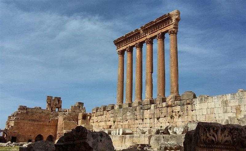 A Throwback to 4000 years b.c lebanon bekaa baalbeck romanreigns ... (Baalbeck - مدينة بعلبك)