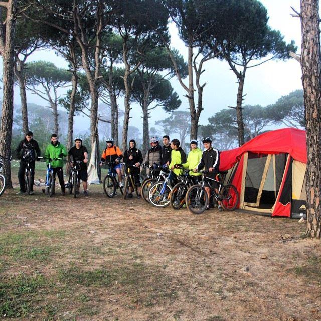 lebanon southlebanon aljanoub jezzine arabsalim bikingclub mtb ... (Bkessine Pine Forest)