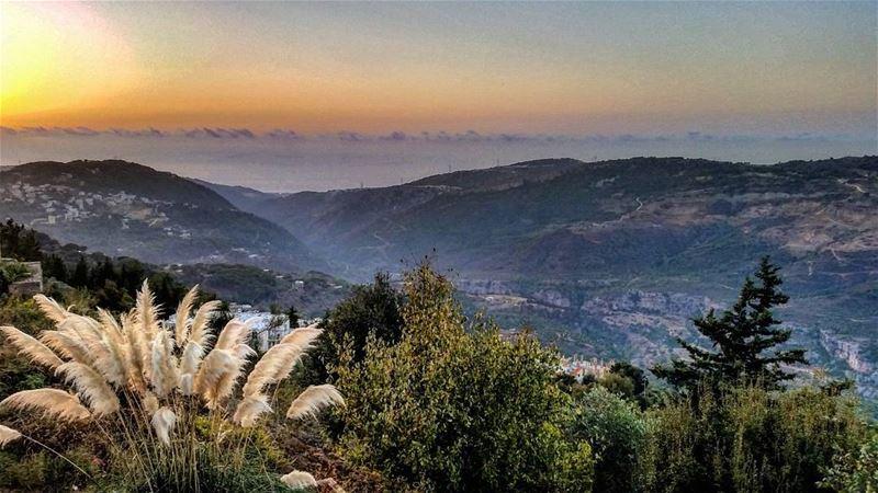 Sunsets. (دير القمر - Deir El Qamar)