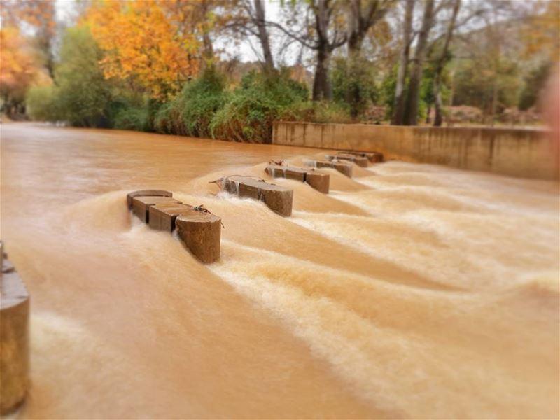 hasbany river today 👌📷 🍃 🌳 hasbaya lebanon hasbanyriver ... (Hasbani River- Hasbaya)