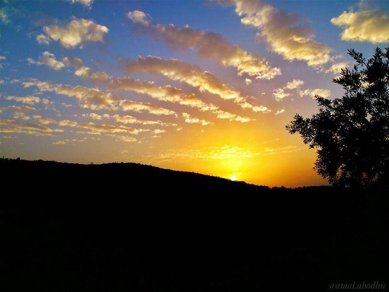 📷🌄☁ sun-set,, cloud-rise 👌 (Hasbaya)