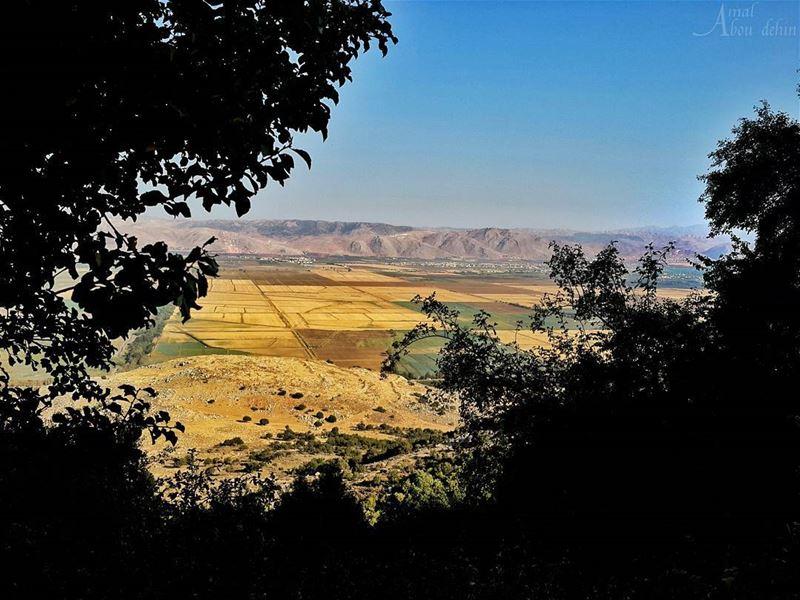 📷🌄🍃🌳 اكبر خدمة يقدمها الانسان للطبيعة هي ان لا يتدخل بها 👌. .... (Beqaa Valley)