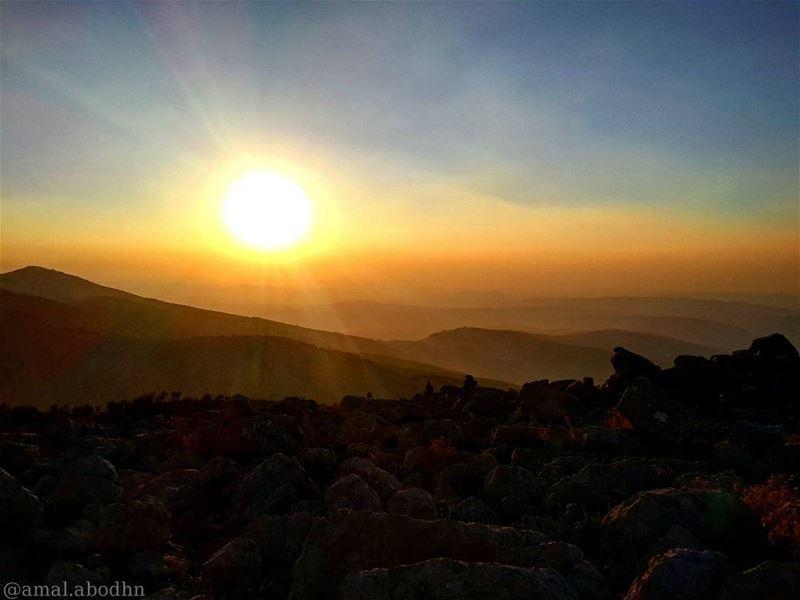 📷🌄 al_bere - hasbaya! sun_set ♥ nature_perfection naturelovers ... (Hasbaya)