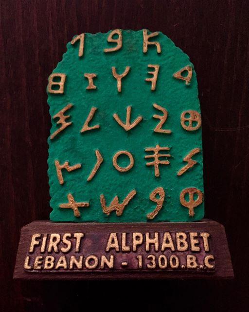 alphabet history lebanon oldisgold whatsuplebanon insta_lebanon ... (Lebanon)