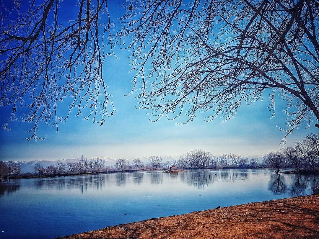 One of the best places i've ever visited 🏞 livelovezahle ... (Taanayel Lake)