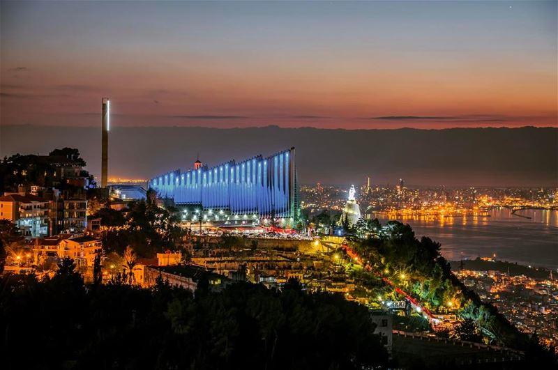 lebanon beirut harissa jounieh night ... (Harîssa, Mont-Liban, Lebanon)