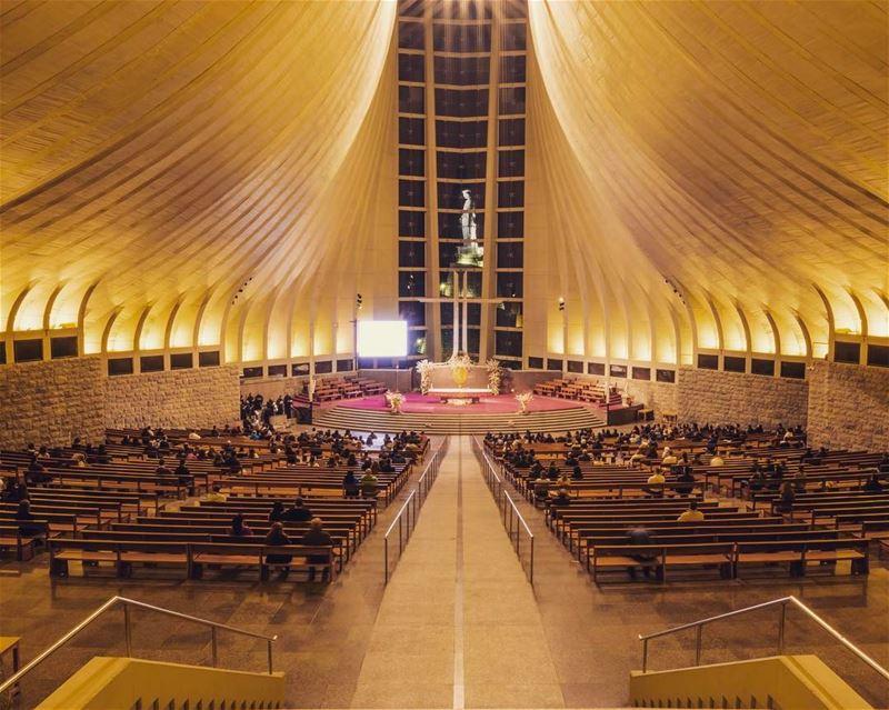 harissa cathedral maronite ... (Harîssa, Mont-Liban, Lebanon)