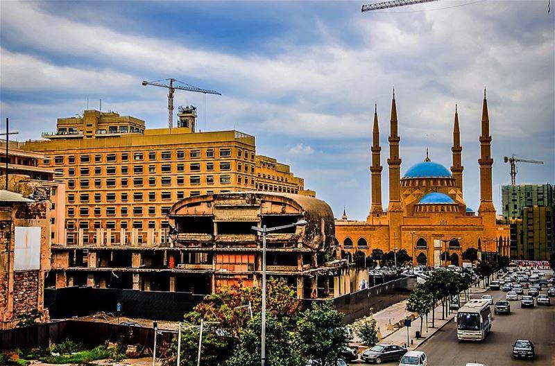 alaminemosque beirut lebanon ptk_lebanon lebanonspotlights ... (Beirut, Lebanon)