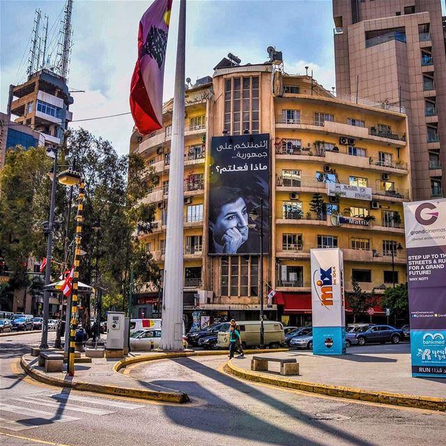 achrafieh lebanon_hdr beirut kataeb ... (Achrafieh, Sassine Square)