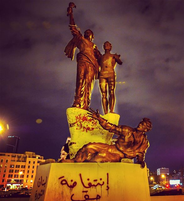 lebanon martyrssquare beirut beiruting beirutlebanon beirutnightlife... (Beirut Souks - Downtown Beirut)